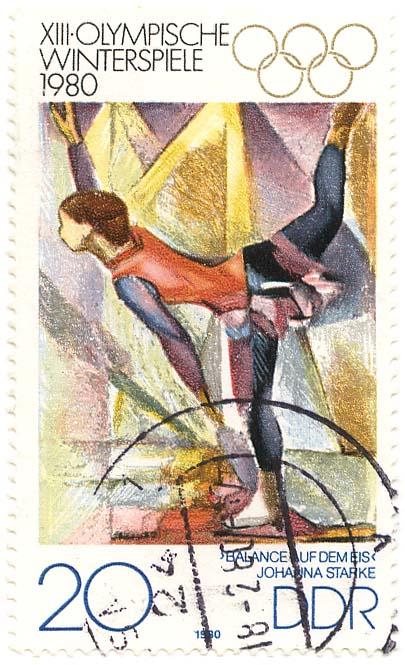 xi olympische winterspiele 1980 johanna starke ddr. Black Bedroom Furniture Sets. Home Design Ideas