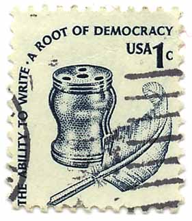 The Ability to Write - A Root of Democracy