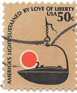 America's light sustained by love of liberty - USA