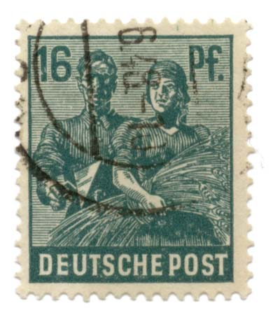 Deutsche Post - 16 Pfennig