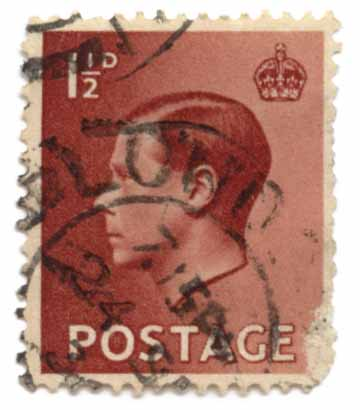 King Edward VIII - Postage Revenue