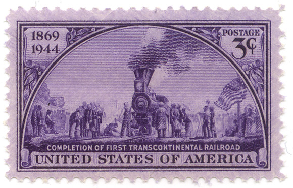 1869-1944 - Completition of the first transcontinental railroad