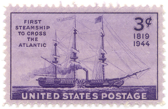 1819-1944 - First steamship to cross the Atlantic