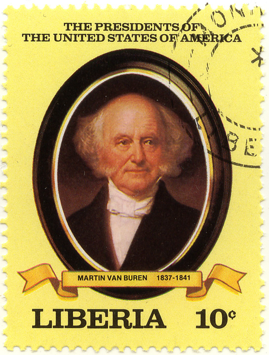 The presidents of the United States of America - Martin Van Buren 1837-1841