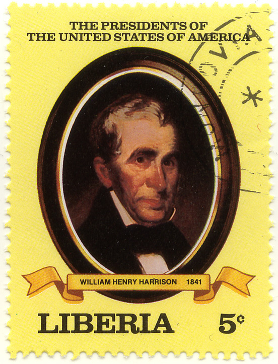 The presidents of the United States of America - William Henry Harrison 1841