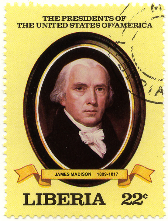 The presidents of the United States of America - James Madison 1809-1817