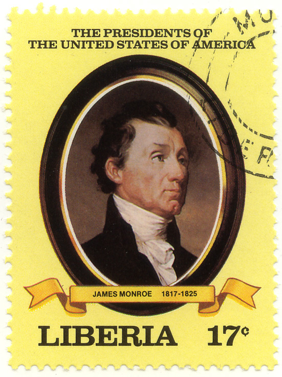 The presidents of the United States of America - James Monroe 1817-1825