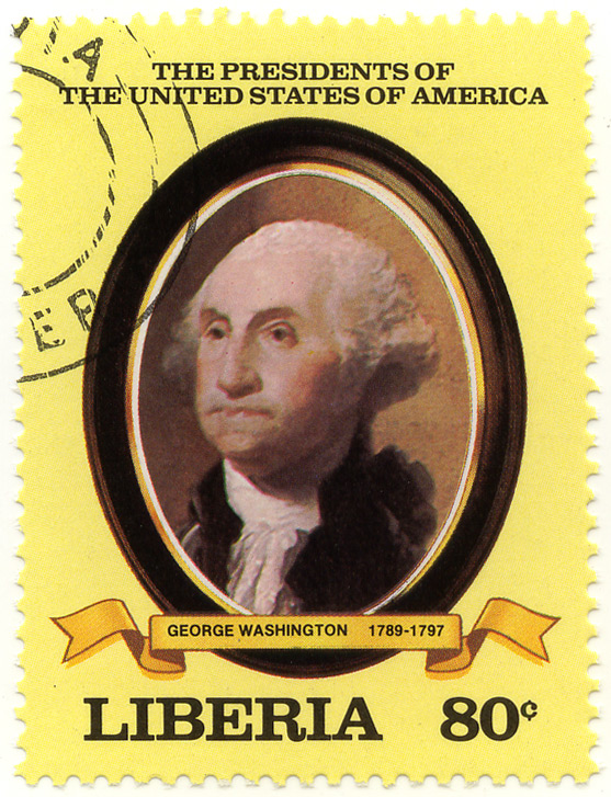 The presidents of the United States of America - George Washington 1789-1797