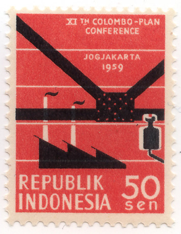 XIth Colombo-plan conference Jogjakarta 1959