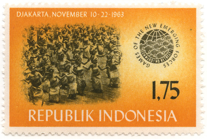 Games of the new emerging forces - Onward! No retreat! - Djakarta, November 10-22-1963