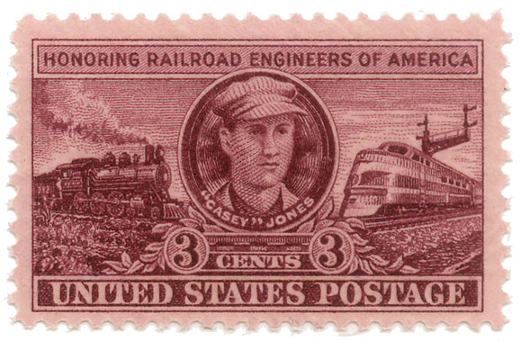 "Honoring railroad engeneers of America - ""Casey"" Jones"