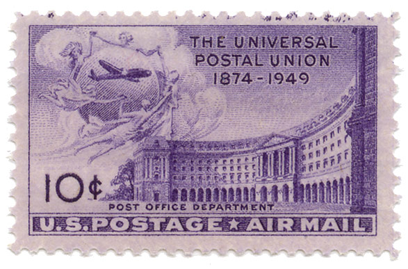 The universal postal union 1874-1949 - post office department