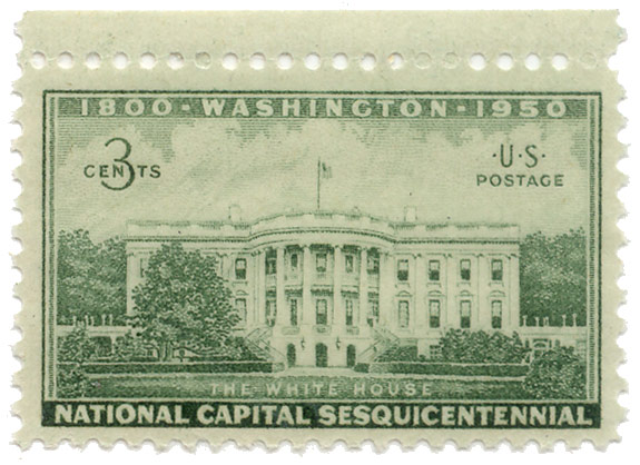 Washington - national capital sesquicentennial 1800-1950 - The White House