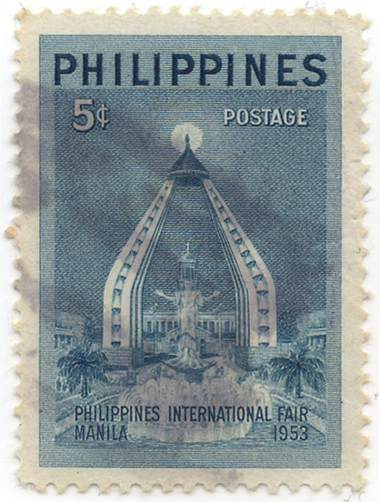 Philippines International Fair - Manila 1953