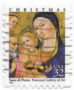 Christmas - Sano di Pietro - National Gallery of Art