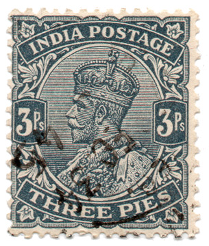 India Postage - Three Pies