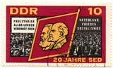 stamp #140 from German Democratic Republic