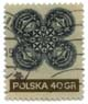 stamp #869 from Poland