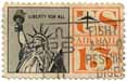 Liberty for All - US Air Mail