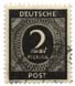 Deutsche Post - 2 Pfennig