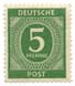 Deutsche Post - 5 Pfennig