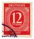 Deutsche Post - 12 Pfennig