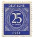 Deutsche Post - 25 Pfennig