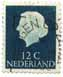 stamp #1280 from Netherlands