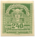 Newspaper stamp German Austria from German Austria