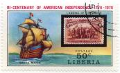 Bi-centenary of American Independence 1776-1976 - Landing of Columbus - Santa Maria