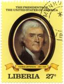 The presidents of the United States of America - Thomas Jefferson 1801-1809