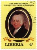 The presidents of the United States of America - John Adams 1797-1801