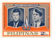 John F. and Robert Kennedy - Fighters for human and civil rights - John 1917-1963 - Robert 1925-1968