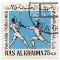 Pan Arab Cairo 1965 - Fencing
