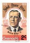 Nobel Peace Prize 1919 - Woodrow Wilson (A)