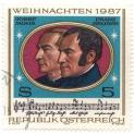 stamp #1557 from Austria
