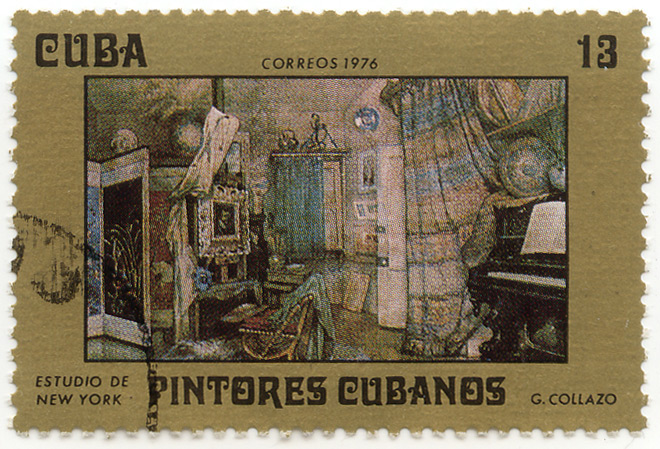Pintores Cubanos - Estudio de New York - G. Collazo