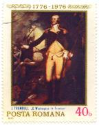 J. Trumbull - G. Washington la Trenton - 1776-1976