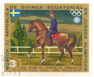Munich 72 - XX Olympic from Equatorial Guinea