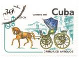 Faeton - old carriages from Cuba